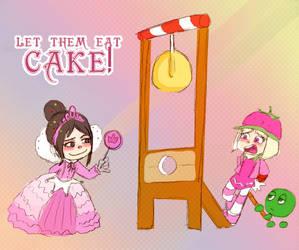 Let them eat CAKE! by Arkham-Insanity