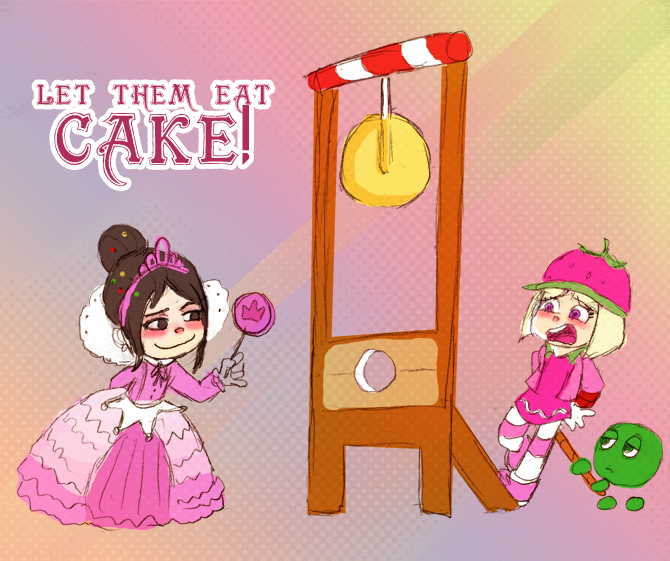 Let them eat CAKE! by Arkham-Insanity