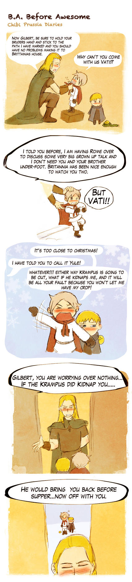 Chibi Prussia Diaries -042- by Arkham-Insanity