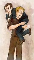 Carry me Sebby by Arkham-Insanity