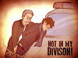 Not In My Divison by Arkham-Insanity