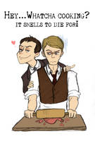 ...In which Moriarty Enjoys Annoying Hannibal by Arkham-Insanity
