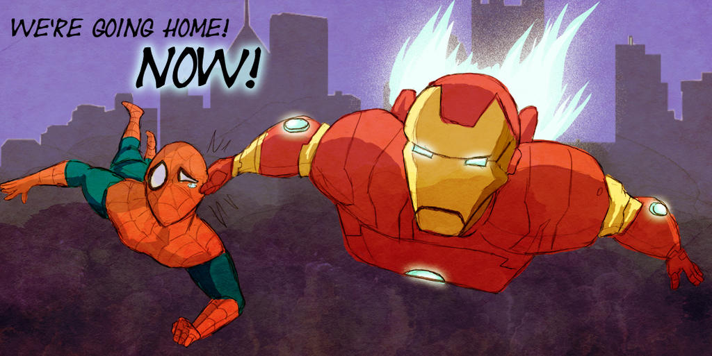 In Trouble with Iron Man by Arkham-Insanity