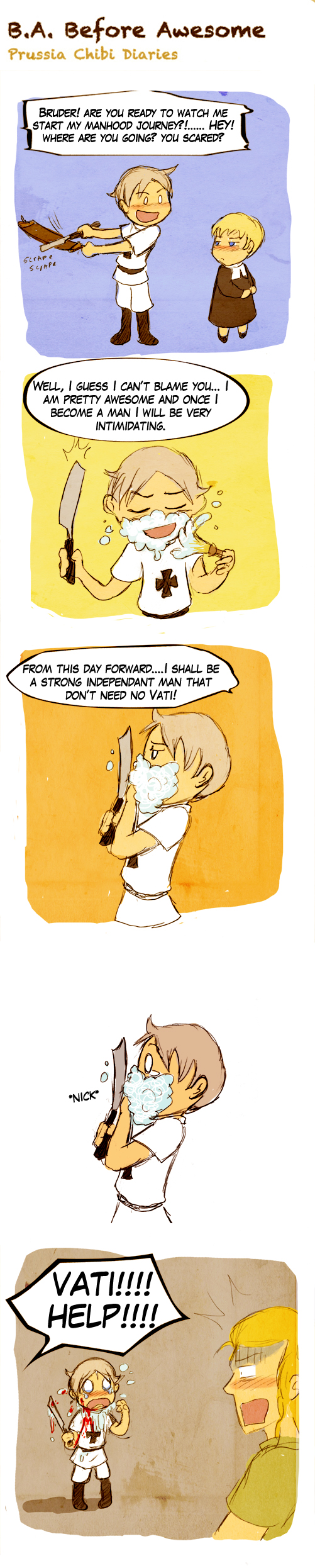 Chibi Prussia Diaries -051- by Arkham-Insanity