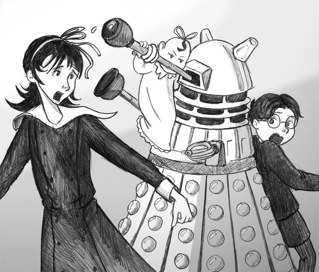 Very Ferocious Dalek by Arkham-Insanity