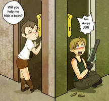 Other Side of the Door by Arkham-Insanity