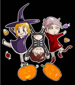 Bad Touch Trio Halloween