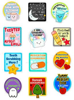 Encouragment Stickers