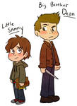 Lil Sammy and Big Brother Dean