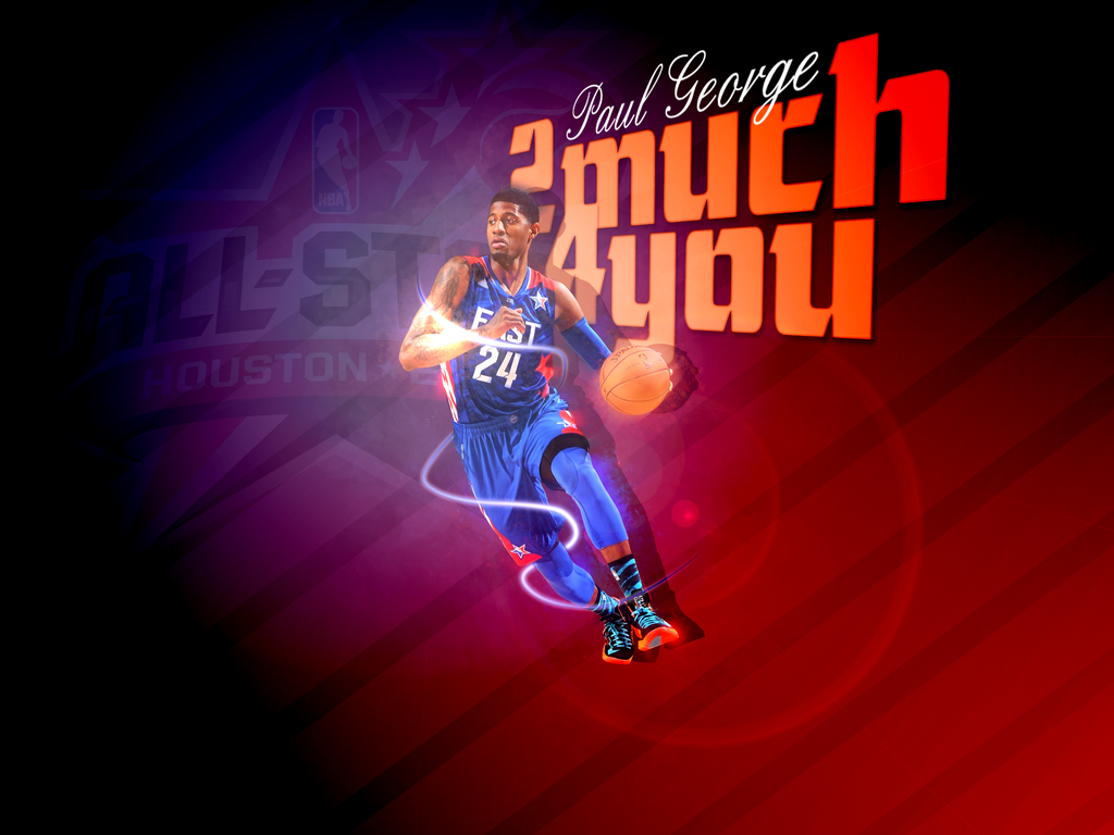 Paul George All Star Wallpaper by 1madhatter
