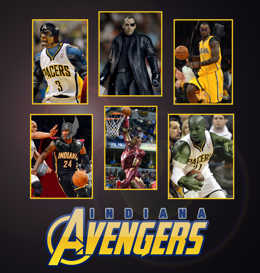 Indiana Avengers by 1madhatter
