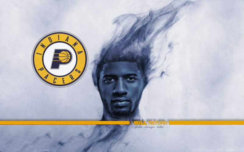 Paul George I WILL RETURN wallpaper by 1madhatter