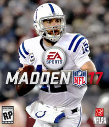 Madden 17 Andrew Luck Cover XBOX ONE