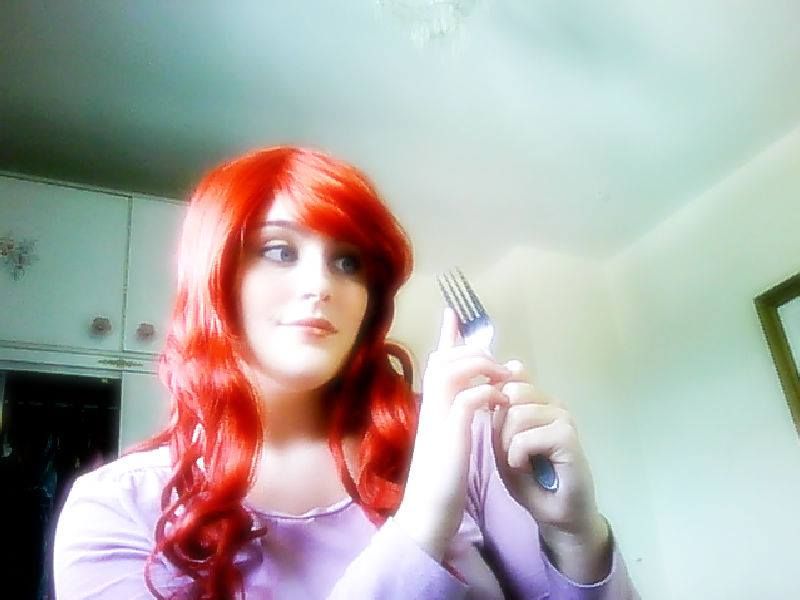 ariel wig test by sakuratard17
