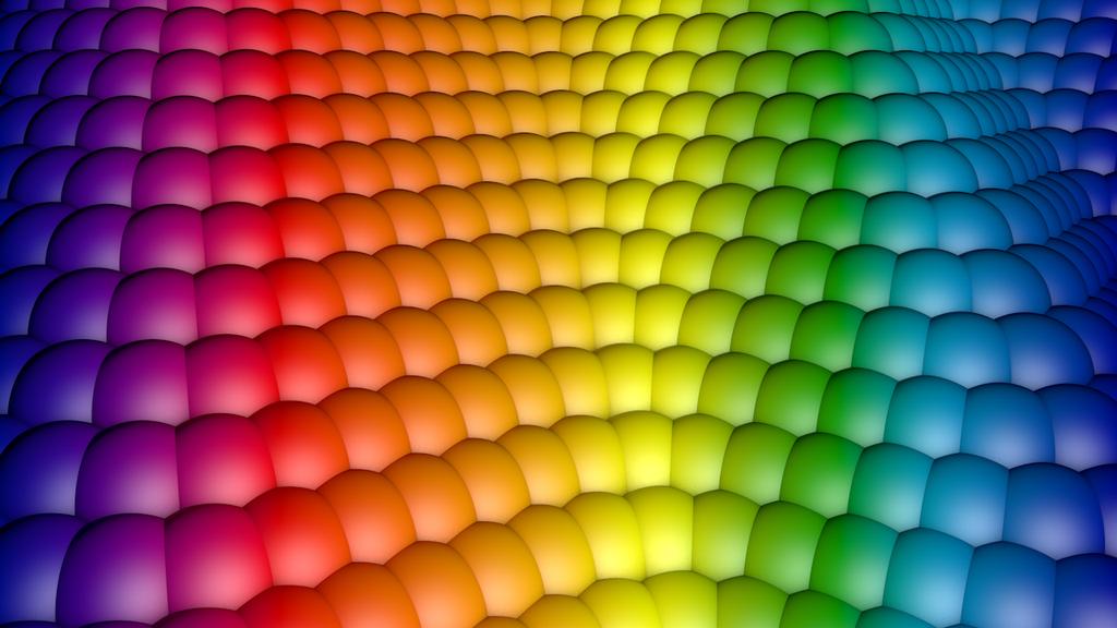 Rainbow Ballz by Galato901
