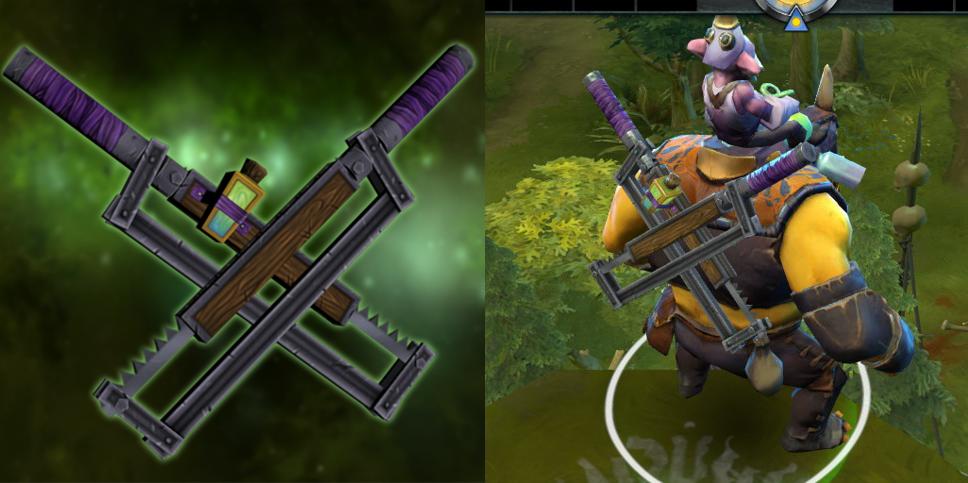 dota2 alchemist weapon model by waryc on deviantart
