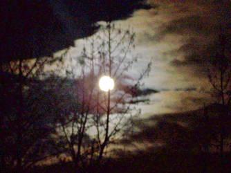 The moon in all it's glory by underscore12