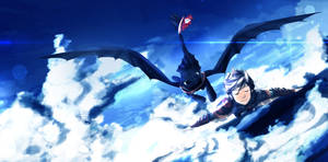Back To The Skies - HTTYD 2 by sydusarts