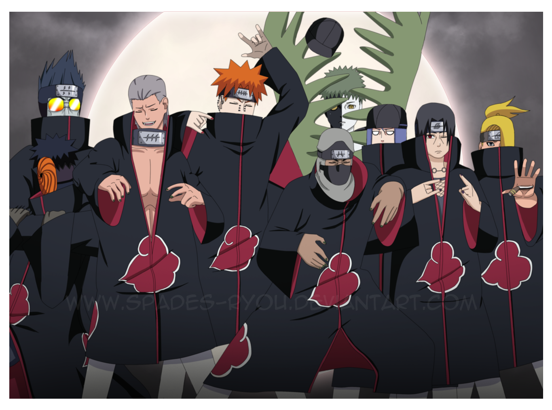 Imagens de Naruto  Akatsuki_gangsters_by_spades_ryou-d3bjze4
