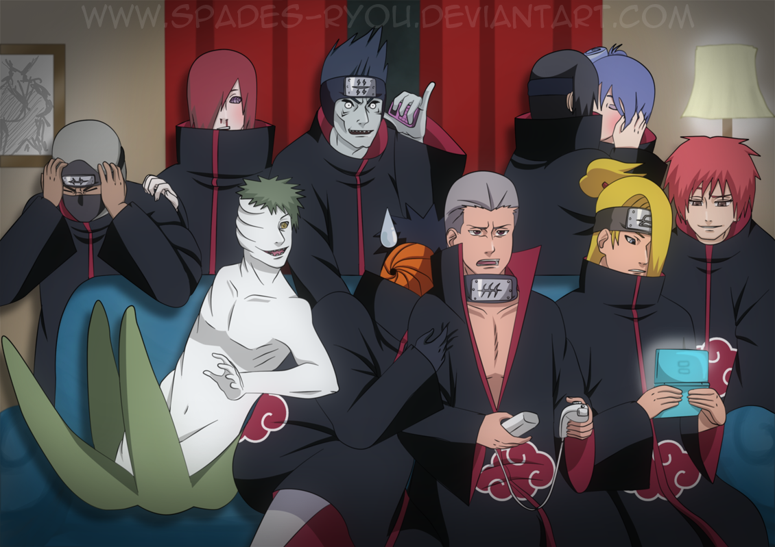 akatsuki dating game deviantart You live with the akatsuki, but not only is it important who likes you and who doesn't, but as well, what kind of personality would you have.