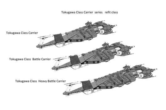 Tokugawa Class Carrier refit