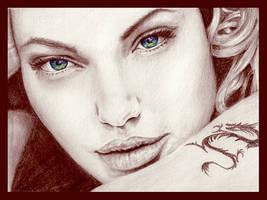 Angelina Jolie by kristymariethomas