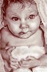 Bathtime Baby by kristymariethomas