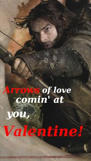 VALENTINE CARD- Kili by BabysbBUM