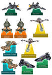 Sci-fi movie card model collection 03