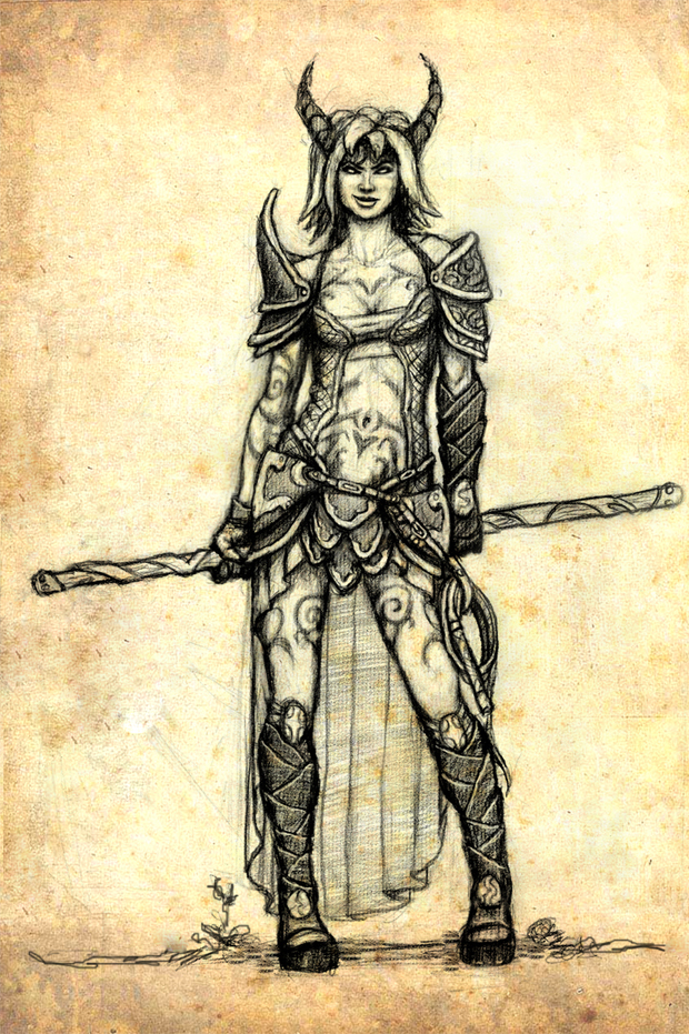 Character Design D D : Dungeons and dragons character by cleophus on deviantart