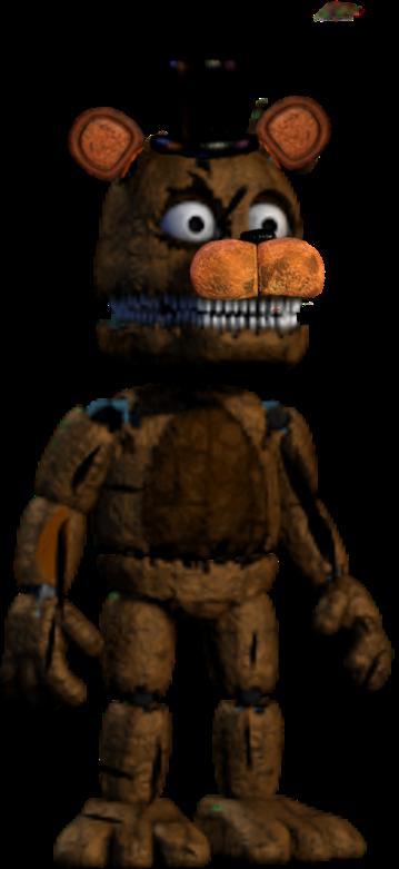 Old Toy Freddy : Plushtrap old freddy by emiz on deviantart