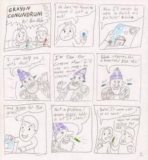 Crayon Conundrum Pg.1