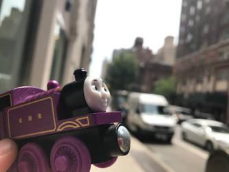Ryan in New York by LUCADOLLAR