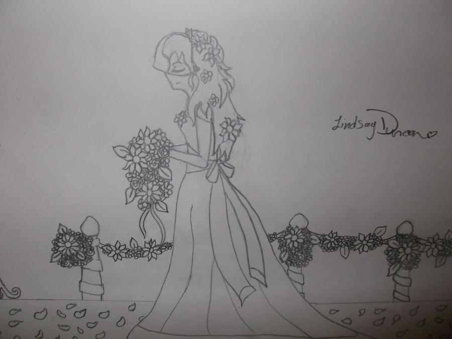 Line Art Wedding : Dream wedding day line art by dinoblood on deviantart