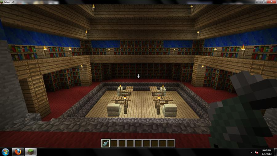 Underground Library by DragonflyLite