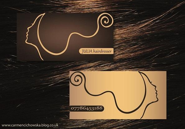 hairdresser business card by carmencichowska on DeviantArt