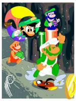 I'm-a Luigi, number one! by SGTMADNESS