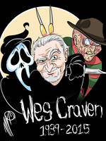 Wes Craven by SGTMADNESS