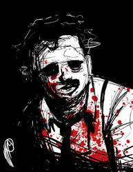 Horror Classics: Leatherface by SGTMADNESS