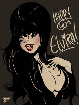 Elvira 40th Anniversary