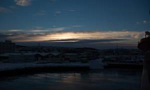 2013 12 08 Trondheim Docks Dark
