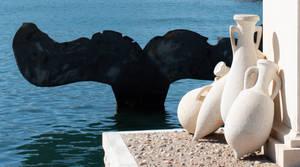 Escultura Cola de Ballena : Cartagena