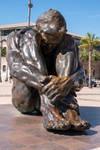 Escultura 'El Zulo' : Cartegena