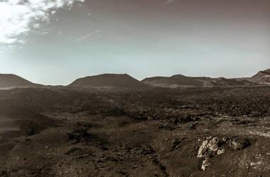 Lanzarote - Volcanic landscape