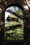 Mangotsfield Station - Windowframe