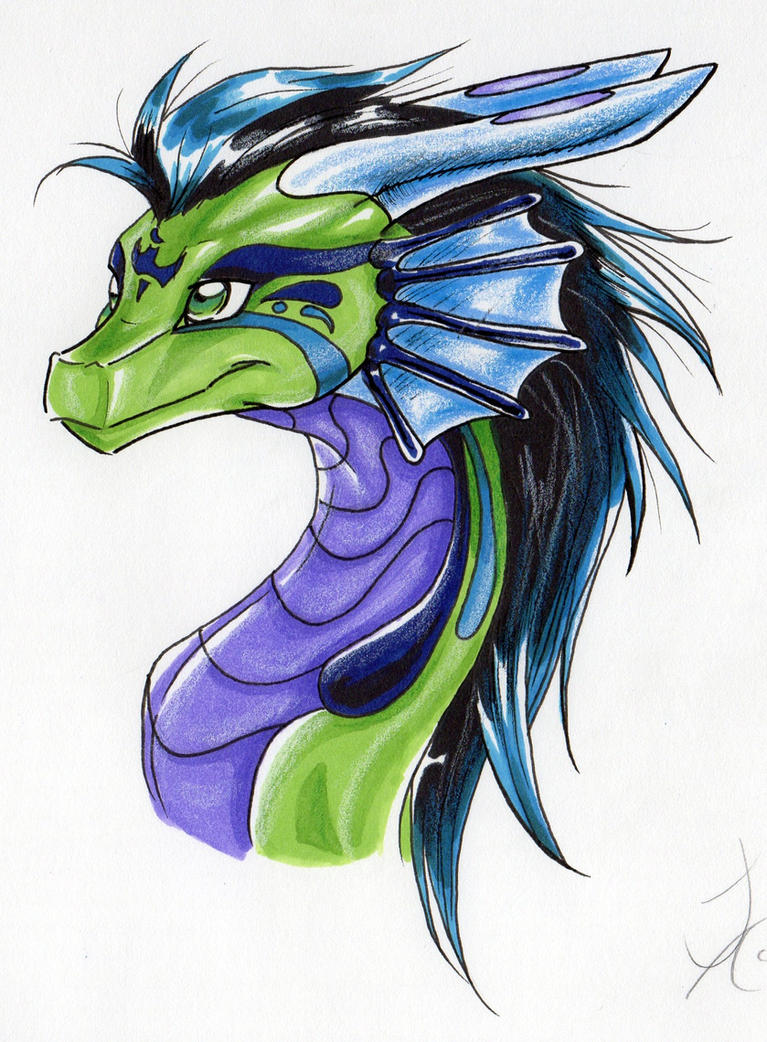 Airianna Dragon Profile by CountessHalcyon