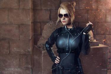 Cassie Cage MKX by CaptainIrachka