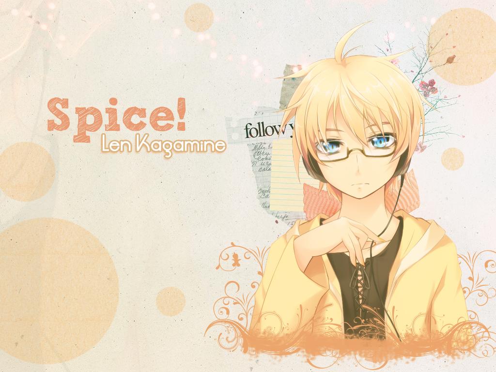 Spice Len Kagamine - Vocaloid by XxAlOnDrAxX