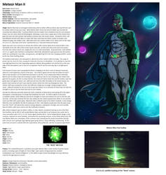 OHOTMUO Meteor Man by Mtheumer