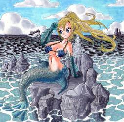 Mermaid Request by Sleepy17